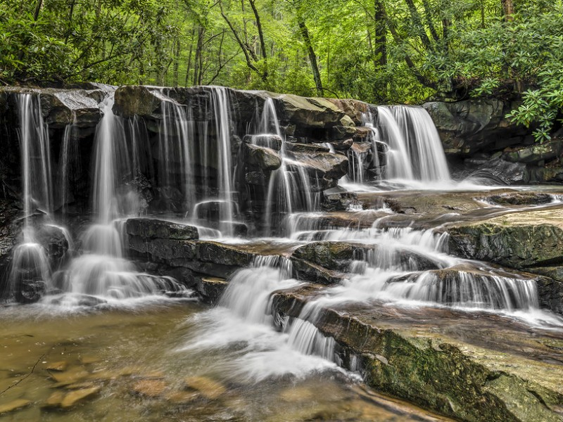 Waterfall at Ohiopyle State Park