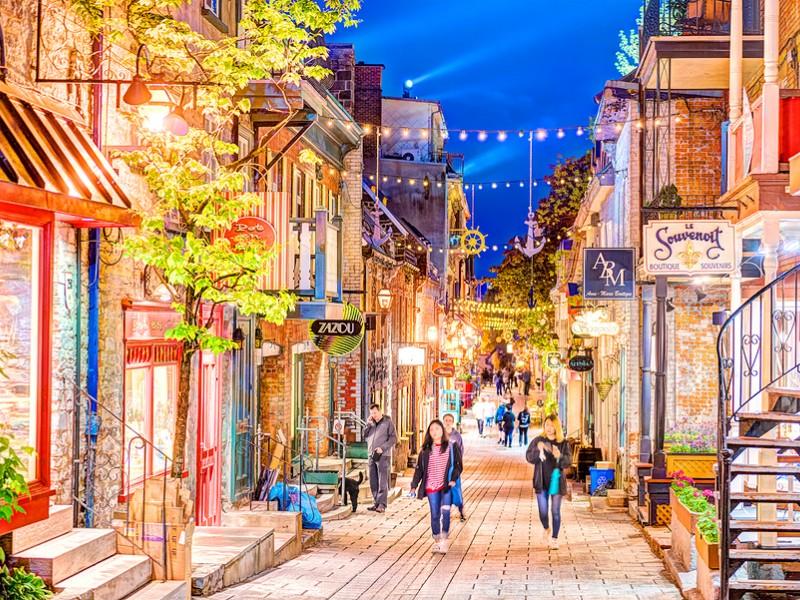 Shop 'til you drop at Quartier Petit-Champlain