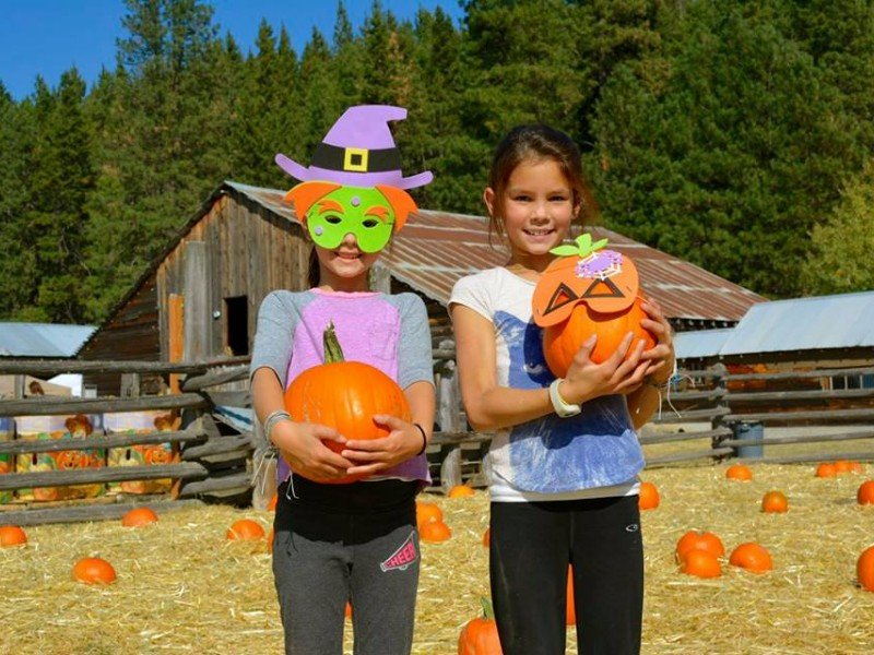 Pumpkin fun at Suncadia Resort