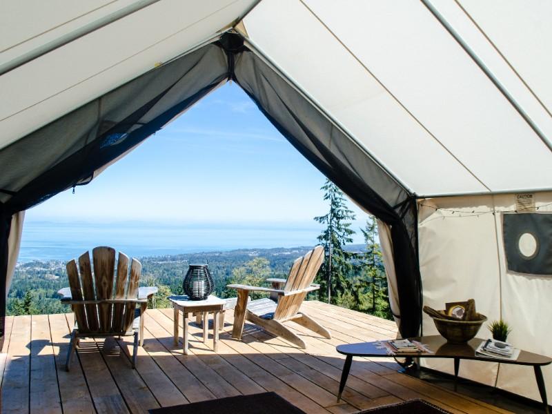 Best View Around: Luxury Camping