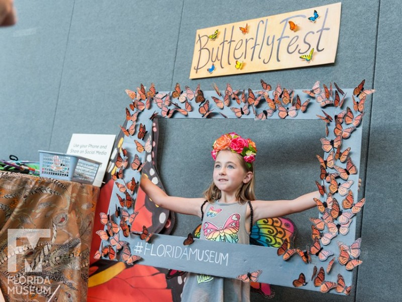 Celebrating Butterflyfest at the museum