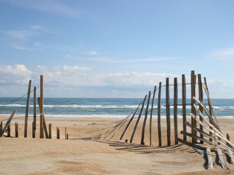 You can get away from the hustle and bustle at the relaxing beaches of Hatteras Island.