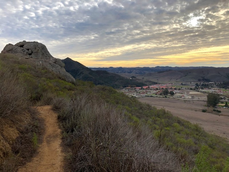 Hiking trail near SLO