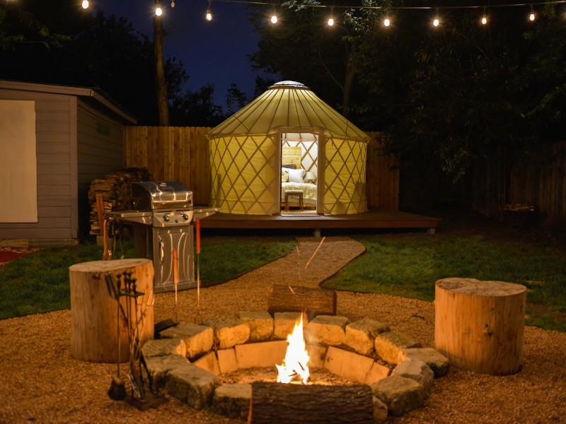 The Urban Yurt - Austin, Texas