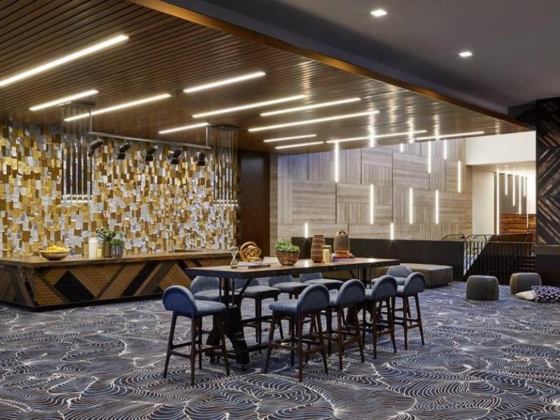 Lobby reception at  Renaissance Nashville Hotel