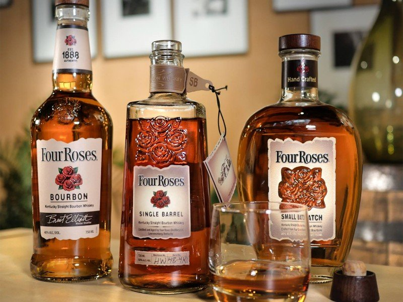 Four Roses can be found at the Kentucky Bourbon Festival.