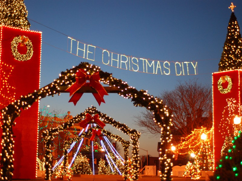Taunton, 'Chriistmas City' Massachusetts