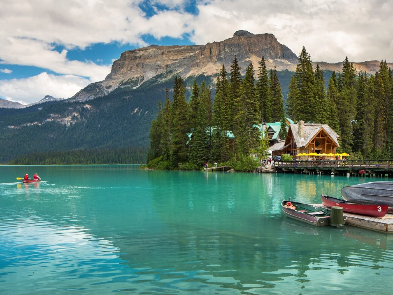 Emerald Lake Lodge, Yoho, British Columbia