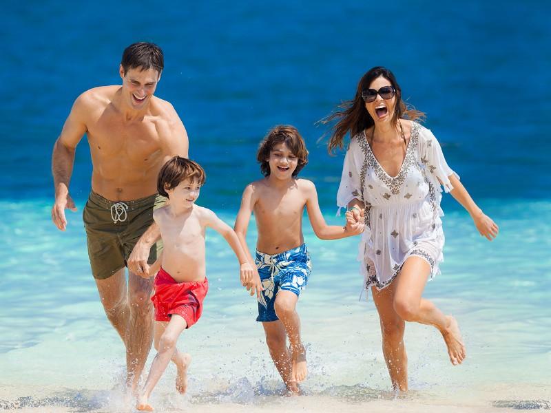 Family at Beaches Ocho Rios