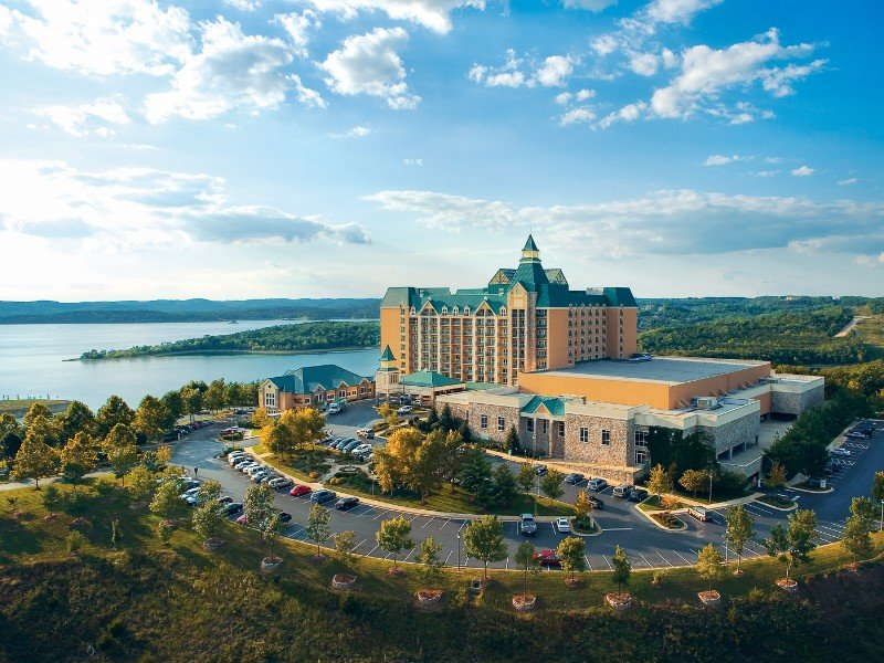 The Chateau on the Lake Resort Spa and Convention Center is the only 4-diamond resort in Branson.