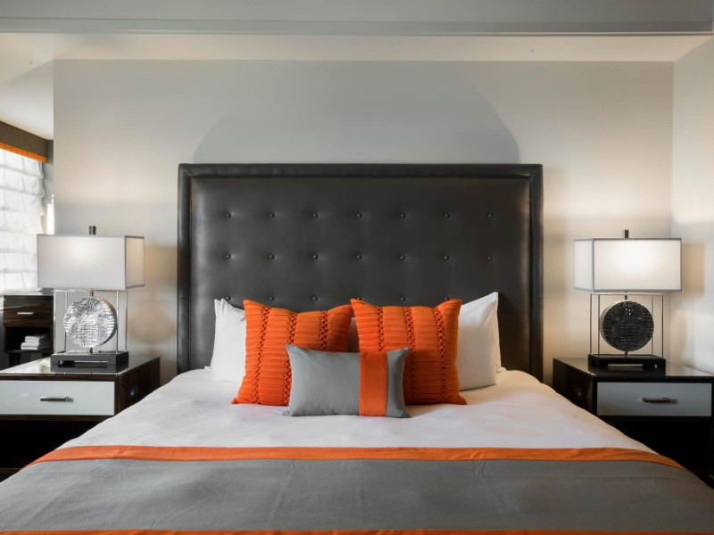 Room inside Colcord Hotel