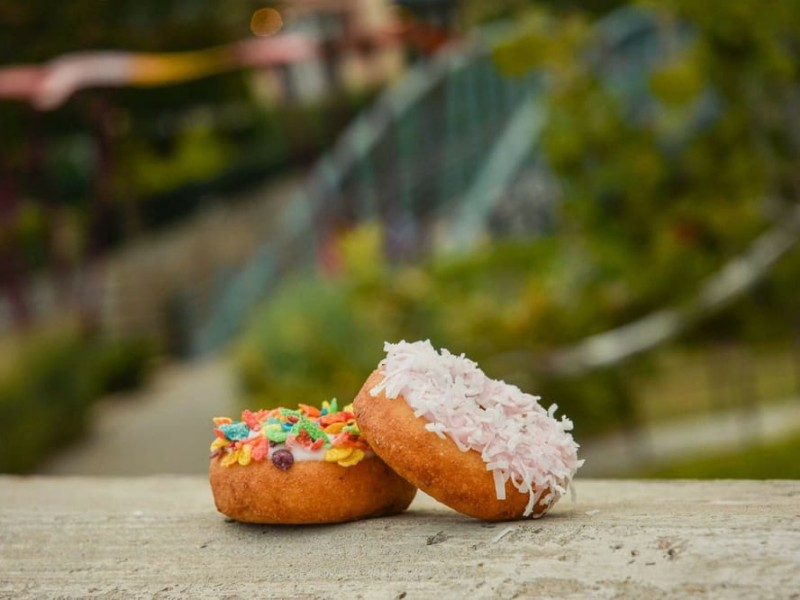 At Donut Experiment, customers can create their own donut flavor concoctions.