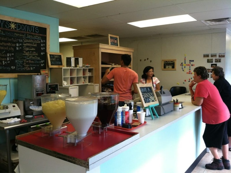 Sunny's Donuts uses from-scratch, family recipes for all of their donuts and baked goods.