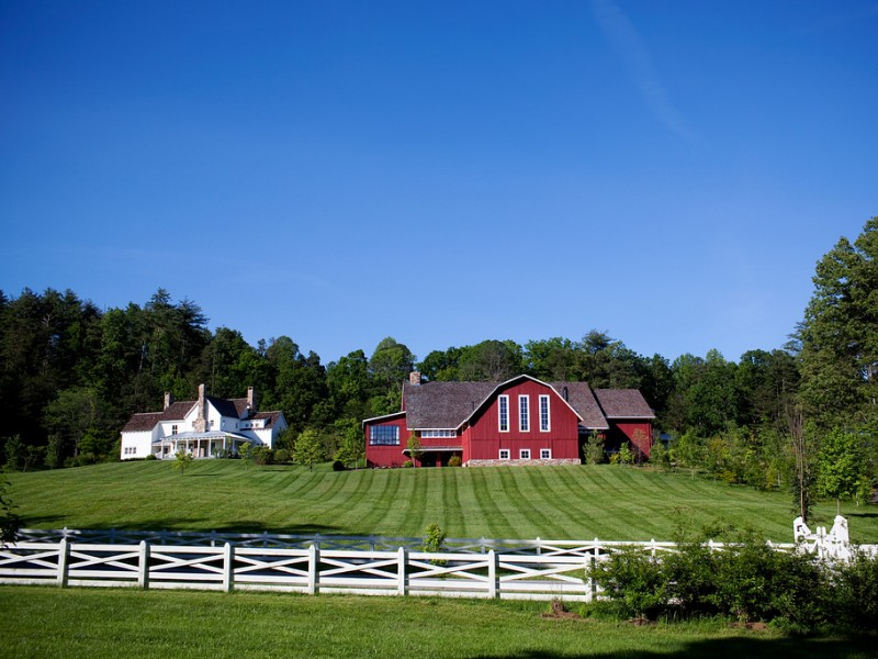 Blackberry Farm has been rated one of the top properties in the world.