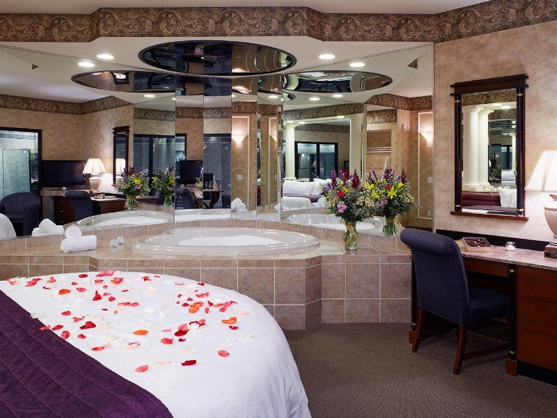 Romantic room for a couple