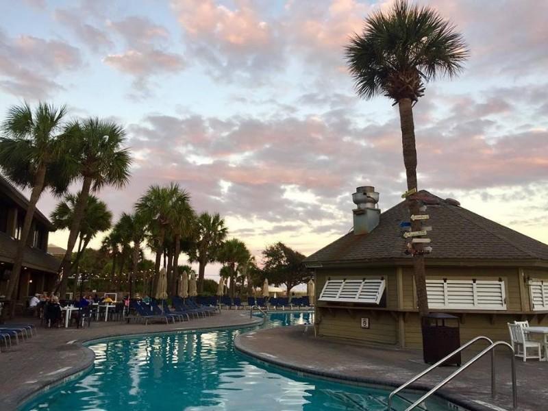 The Holiday Inn Beach House is located on popular Coligny Beach.