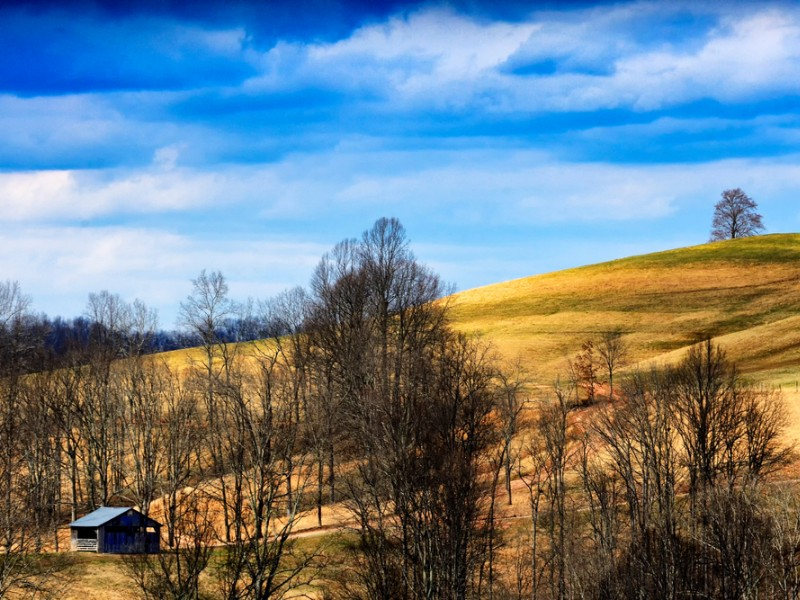Countryside of Roanoke West Virginia