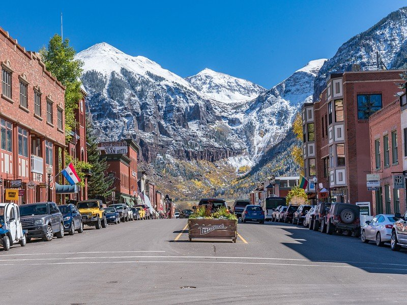 Experience small town charm and world-class skiing in Telluride, CO.