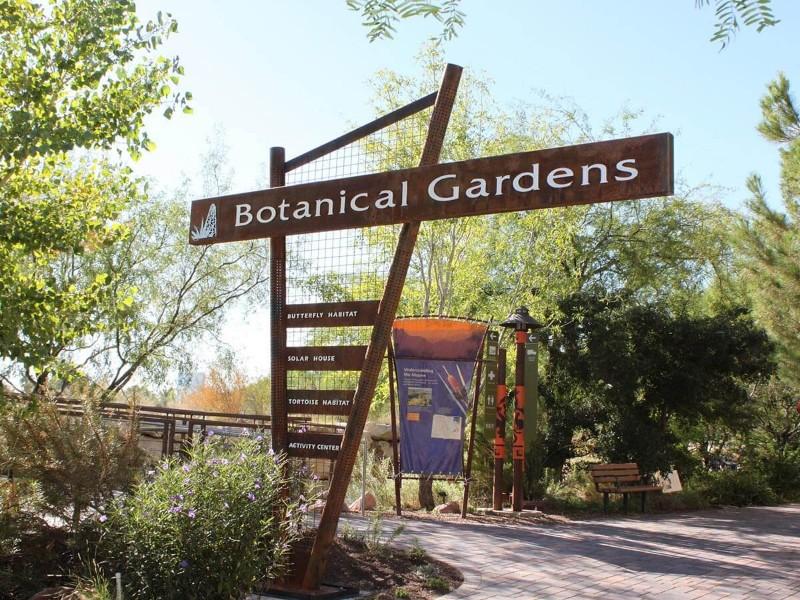 Botanical garden at Springs Preserve