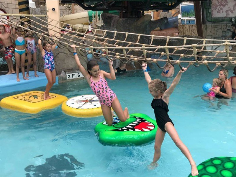 Kids playing at Camelback Resort