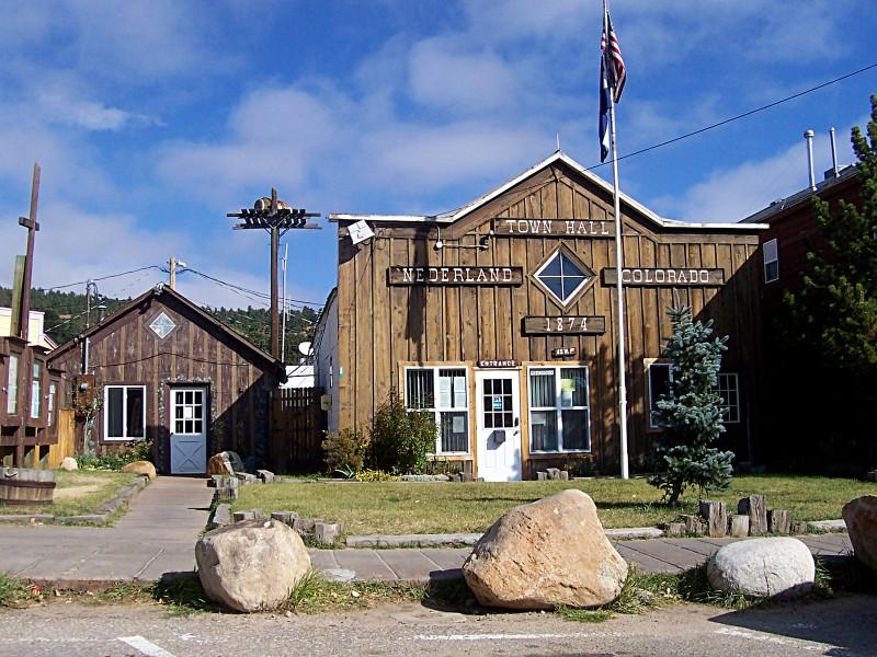 Town Hall in Nederland, Colorado