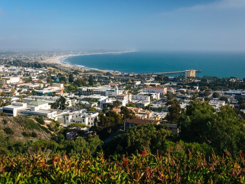 Aerial view of Ventura, California
