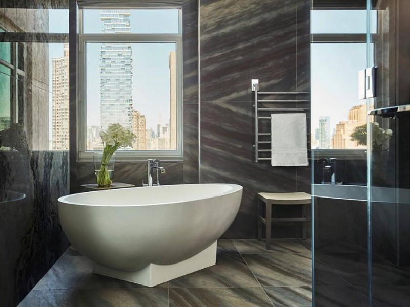 Tub at  Four Seasons Hotel New York Downtown