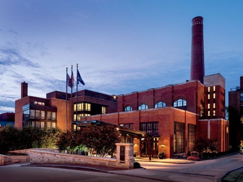The Ritz-Carlton Washington DC is housed in a historic industrial building.