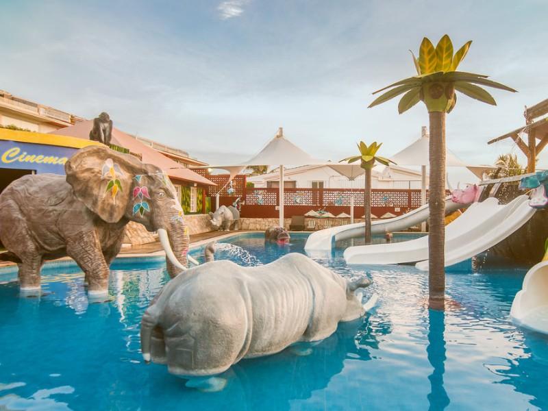 water park at Royal Solaris Cancun