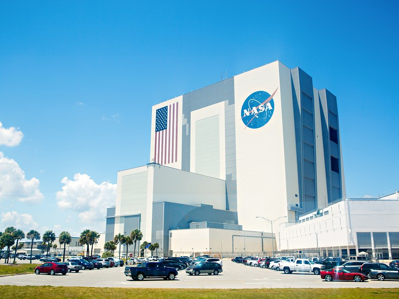 At the Kennedy Space Center, you can do a launch simulator, see rockets and visit the U.S. Astronaut Hall of Fame.