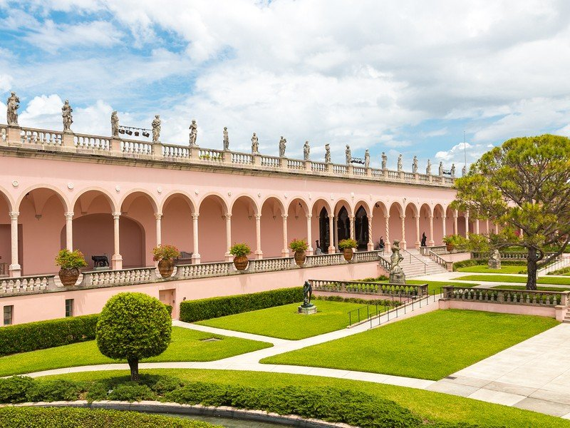Sarasota is home to the Ringling Museum of Art and Circus Museum.