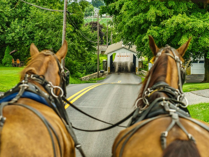 Enjoy a slower pace in the Pennsylvania Dutch country of Lancaster, PA.