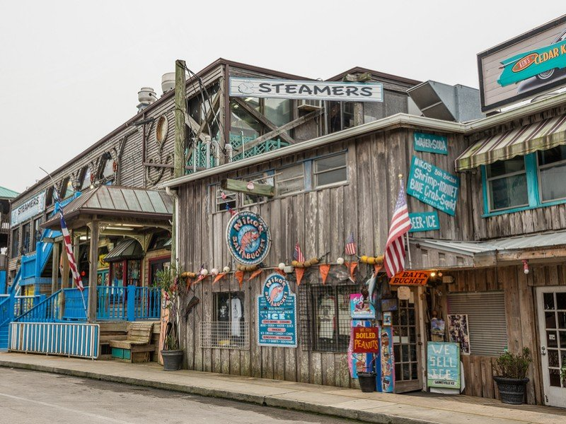 Cedar Key is part fishing village, part island town.