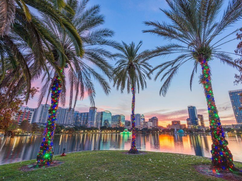 Orlando is home to amusement parks, wildlife, shopping and more.