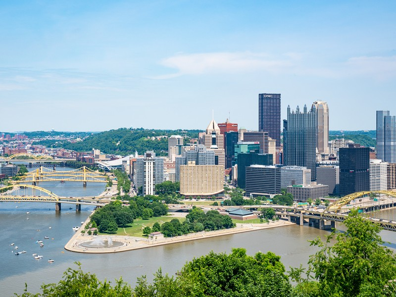The city of Pittsburgh is made up of 90 different unique neighborhoods.