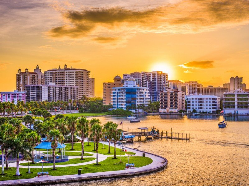 There's lots to do in the beautiful city of Sarasota including the Ringling Bros. Circus Museum.