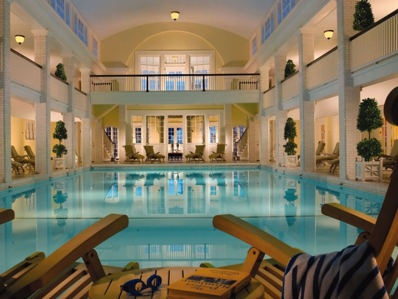 Spa swimming pool at Omni Bedford Springs Resort, Pennsylvania