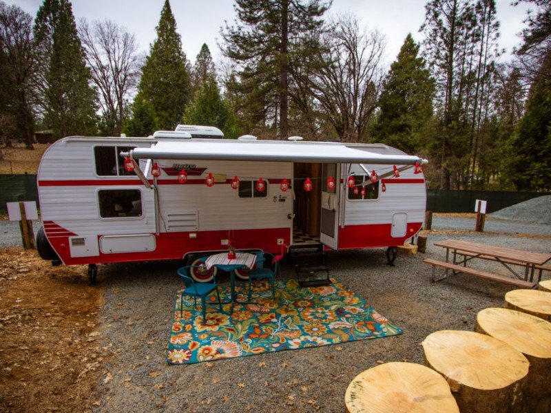 Riverside Retro at Inn Town Campground, Nevada City