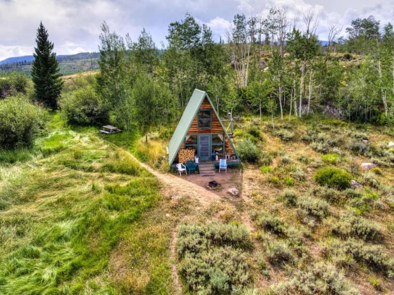 Airbnb Moose Haven Cabin @ 22 West, Walden, Colorado