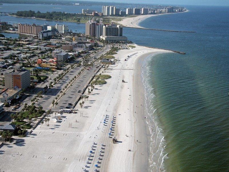 The welcoming beach town of Clearwater has a laidback, family-friendly vibe.