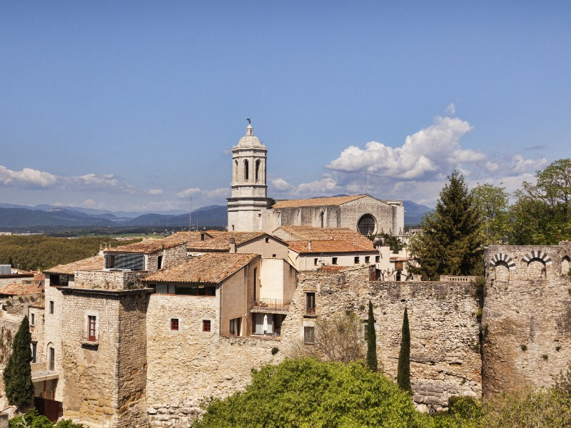 Cathedral St. Mary in Girona, Spain