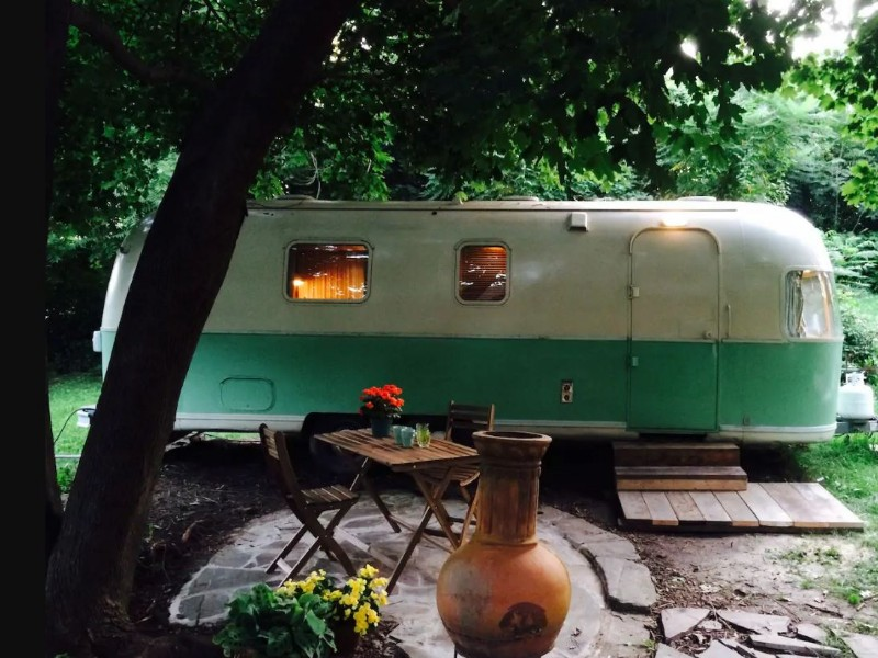 View of the airstream