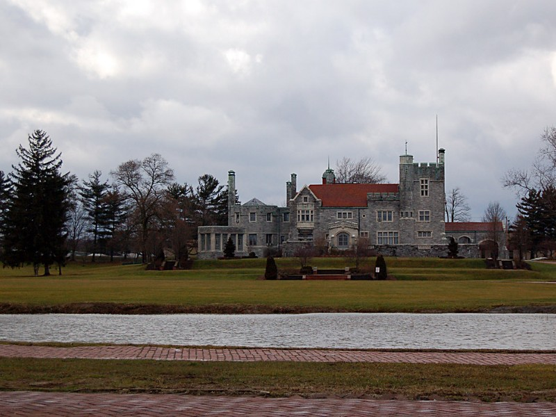 Alliance Castle from afar