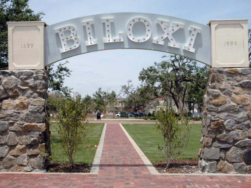 Biloxi Mississippi Hurricane Katrina Memorial