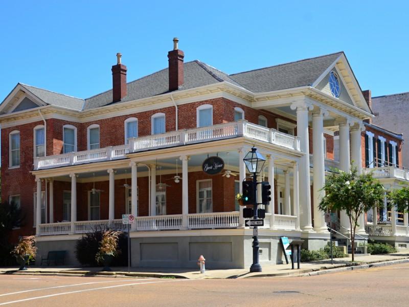 Historic home in Natchez, Mississippi
