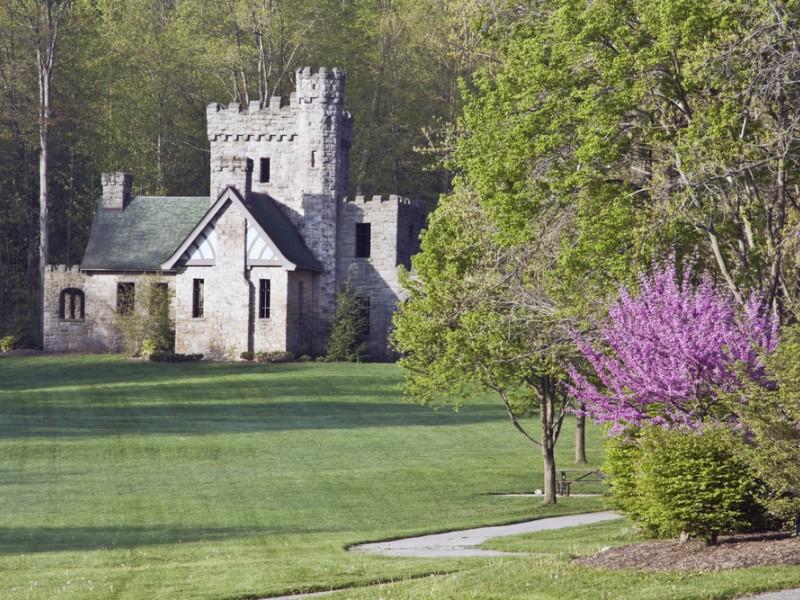 Squire's Castle - historic landmark of Ohio