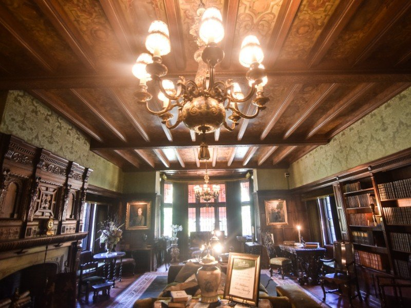 Inside the Stan Hywet Hall and Gardens