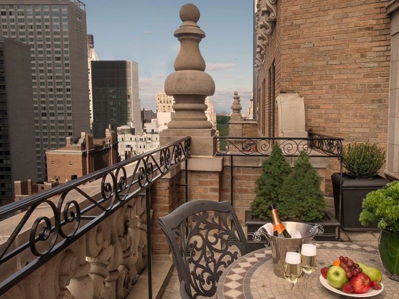 Warwick New York Hotel balcony, New York City