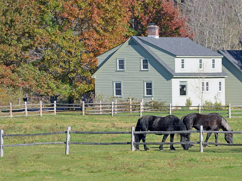 Billings Farm and Museum in Woodstock, Vermont
