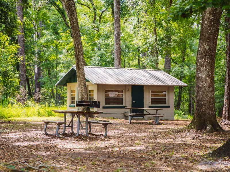 Cabins at Camp Chowenwaw